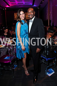 Reem Sadik, Reggie Van Lee. Photo by Tony Powell. 2013 Alvin Ailey Gala. Kennedy Center. February 5, 2013