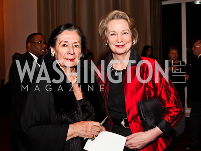 Ann Jordan, Susan Eisenhower. Photo by Tony Powell. 2013 Alvin Ailey Gala. Kennedy Center. February 5, 2013