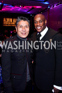 Masazumi Chaya, Marc Manigault. Photo by Tony Powell. 2013 Alvin Ailey Gala. Kennedy Center. February 5, 2013