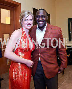 "Julie Donaldson, Sean Springs. Photo by Tony Powell. Becky's Fund ""Walk this Way"" Fashion Show. Italian Embassy. November 8, 2013"