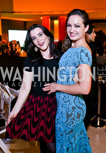 "Jaclyn Mason, Fran Holuba. Photo by Tony Powell. Becky's Fund ""Walk this Way"" Fashion Show. Italian Embassy. November 8, 2013"