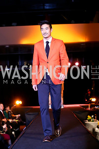 "Steve Lim. Photo by Tony Powell. Becky's Fund ""Walk this Way"" Fashion Show. Italian Embassy. November 8, 2013"