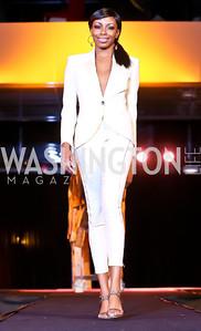 """Joy Kingsley-Ibeh. Photo by Tony Powell. Becky's Fund """"Walk this Way"""" Fashion Show. Italian Embassy. November 8, 2013"""