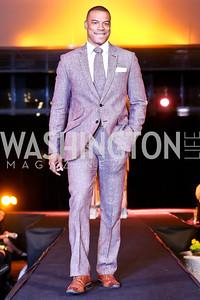 """John Booty. Photo by Tony Powell. Becky's Fund """"Walk this Way"""" Fashion Show. Italian Embassy. November 8, 2013"""