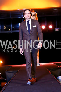 "Dave Tafuri. Photo by Tony Powell. Becky's Fund ""Walk this Way"" Fashion Show. Italian Embassy. November 8, 2013"