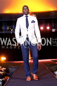 "Joseph Otim. Photo by Tony Powell. Becky's Fund ""Walk this Way"" Fashion Show. Italian Embassy. November 8, 2013"