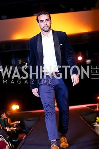 "Canadian soccer player Dwayne De Rosario. Photo by Tony Powell. Becky's Fund ""Walk this Way"" Fashion Show. Italian Embassy. November 8, 2013"