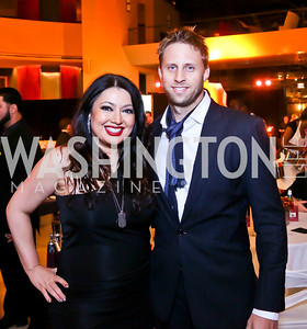 "Alex Naini, Matt Landsberg. Photo by Tony Powell. Becky's Fund ""Walk this Way"" Fashion Show. Italian Embassy. November 8, 2013"