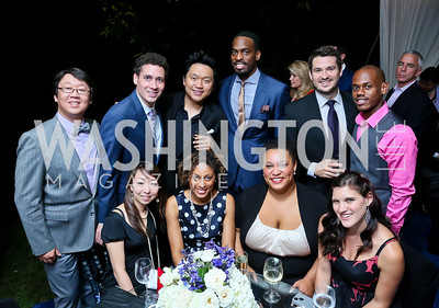 Opera Singers. Photo by Tony Powell. Cafritz Welcome Back from Summer. September 7, 2013