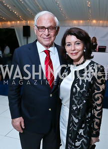 John and JoAnn Mason. Photo by Tony Powell. Cafritz Welcome Back from Summer. September 7, 2013