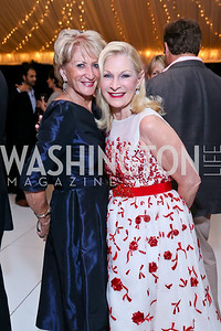 Maggie Shannon, Susan Pillsbury. Photo by Tony Powell. Cafritz Welcome Back from Summer. September 7, 2013
