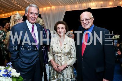 Senator Ed Markey, Lucky Roosevelt, Joe Duffey. Photo by Tony Powell. Cafritz Welcome Back from Summer. September 7, 2013