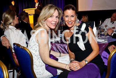 Annie Magruder, Ann Kane. Photo by Tony Powell. Catholic Charities Gala 2013. Marriott Wardman Park. April 27, 2013