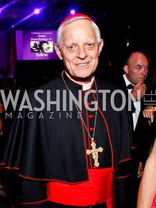 Archbishop of Washington Cardinal Donald Wuerl. Photo by Tony Powell. Catholic Charities Gala 2013. Marriott Wardman Park. April 27, 2013