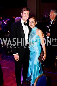 Bill and Pilar O'Leary. Photo by Tony Powell. Catholic Charities Gala 2013. Marriott Wardman Park. April 27, 2013
