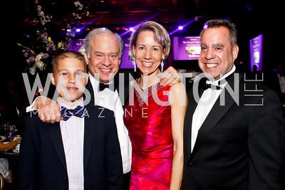 Christopher Greenberg, Nino Vaghi, Paula and Keith Greenberg. Photo by Tony Powell. Catholic Charities Gala 2013. Marriott Wardman Park. April 27, 2013