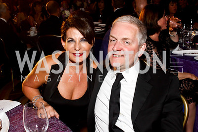 Anna and Robert Trone. Photo by Tony Powell. Catholic Charities Gala 2013. Marriott Wardman Park. April 27, 2013