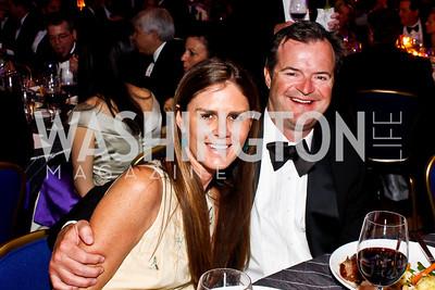 Mae Haney Grennan and Ande Grennan. Photo by Tony Powell. Catholic Charities Gala 2013. Marriott Wardman Park. April 27, 2013