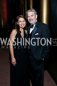 Diana Villarreal, Joe Brickey. Photo by Tony Powell. 2013 CharityWorks Dream Ball. October 5, 2013