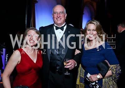 Mary Ellen Matheson, David Coker, Bonnie Carroll. Photo by Tony Powell. 2013 CharityWorks Dream Ball. October 5, 2013