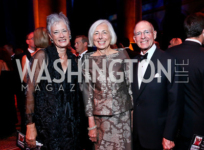 Kate Markert, Barbara and Charles Rossotti. Photo by Tony Powell. 2013 CharityWorks Dream Ball. October 5, 2013