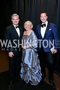 Mark Lowham, Leah Gansler, Barry Dixon. Photo by Tony Powell. 2013 CharityWorks Dream Ball. October 5, 2013