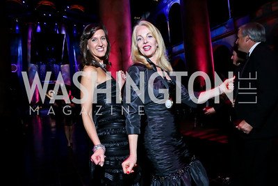 Elizabeth Bizic, Kim Harkin. Photo by Tony Powell. 2013 CharityWorks Dream Ball. October 5, 2013