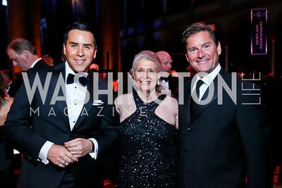 Will Thomas, Barbara Hawthorne, Joe Ruzzo. Photo by Tony Powell. 2013 CharityWorks Dream Ball. October 5, 2013