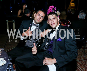 Matthew Hayes, Specialist Brent Hendrix. Photo by Tony Powell. 2013 CharityWorks Dream Ball. October 5, 2013