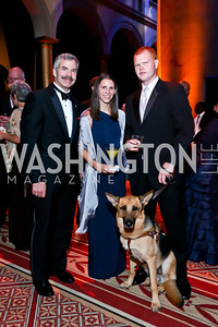 Brian Gawne, Sarah and Timothy Fallon. Photo by Tony Powell. 2013 CharityWorks Dream Ball. October 5, 2013