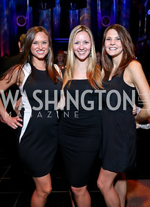 Julie Henry, Anna Trudel, Katie Robinson. Photo by Tony Powell. 2013 CharityWorks Dream Ball. October 5, 2013