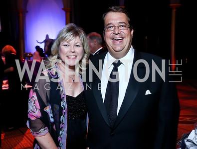Lori Jenkins, George Swygert. Photo by Tony Powell. 2013 CharityWorks Dream Ball. October 5, 2013