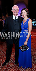 Jack and Christine Gansler. Photo by Tony Powell. 2013 CharityWorks Dream Ball. October 5, 2013