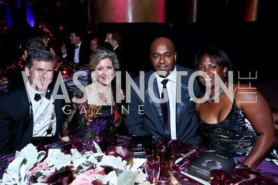 Jeff and Kristi Weiss, John and Monica Thompson. Photo by Tony Powell. 2013 CharityWorks Dream Ball. October 5, 2013