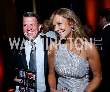 Scott and Patrice Brickman. Photo by Tony Powell. 2013 CharityWorks Dream Ball. October 5, 2013