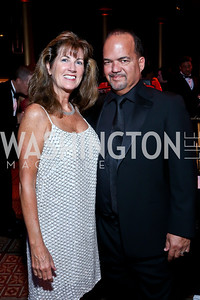 Liz and Fernando Murias. Photo by Tony Powell. 2013 CharityWorks Dream Ball. October 5, 2013