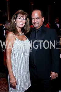 Liz and Fernando Murias. Photo by Tony Powell. 2013 CharityWorks Dream Ball. October 5, 2013