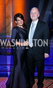 Anna and Robert Trone. Photo by Tony Powell. 2013 CharityWorks Dream Ball. October 5, 2013