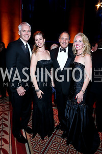 John and Elizabeth McGowan, Pat and Kim Harkin. Photo by Tony Powell. 2013 CharityWorks Dream Ball. October 5, 2013