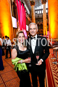 Katherine Vernot-Jonas and Dr. Richard Jonas. Photo by Tony Powell. 2013 CNMC Ball. Building Museum. May 11, 2013