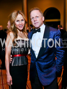 Jocelyn and Tim Greenan. Photo by Tony Powell. 2013 CNMC Ball. Building Museum. May 11, 2013