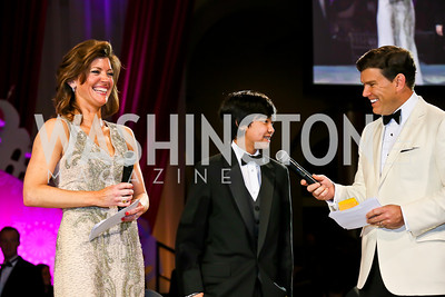 Norah O'Donnell, Bret Baier. Photo by Tony Powell. 2013 CNMC Ball. Building Museum. May 11, 2013