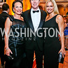 Grace Bender, Bruce and Sharon Bradley. Photo by Tony Powell. 2013 CNMC Ball. Building Museum. May 11, 2013