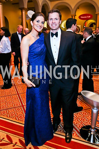 Jennifer and Wynn Sheridan. Photo by Tony Powell. 2013 CNMC Ball. Building Museum. May 11, 2013