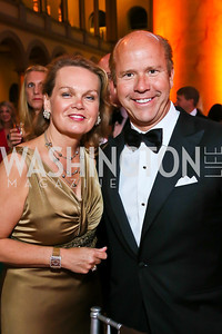 April and Rep. John Delaney. Photo by Tony Powell. 2013 CNMC Ball. Building Museum. May 11, 2013