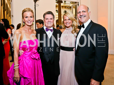 Susanna and Jack Quinn, Jamie and Dave Dorros. Photo by Tony Powell. 2013 CNMC Ball. Building Museum. May 11, 2013