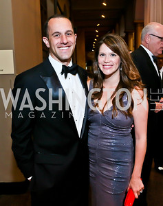 David and Bianca Grimaldi. Photo by Tony Powell. 2013 CNMC Ball. Building Museum. May 11, 2013