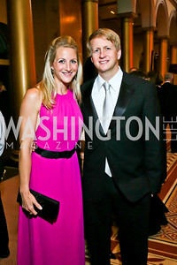 Carrie and David Marriott. Photo by Tony Powell. 2013 CNMC Ball. Building Museum. May 11, 2013