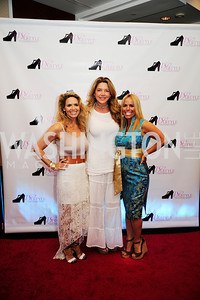 Kim Helfgott, Mary Amons,Dawn Johnson,2013 DC Style Fashion Show,May  19,2013,Kyle  Samperton