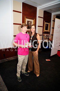 Blake Dannenbaum,Paige McKenzie.May  19,2013, 2013 DC Style Fashion Show,Kyle  Samperton